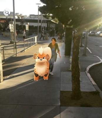 pokemon go user