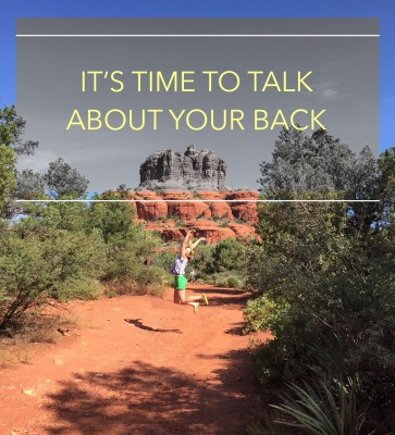 it's time to talk about lower back pain