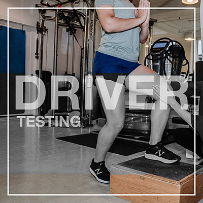 driver testing at Thrive Physical Therapy in downtown New York